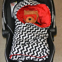 Baby Car Seat Blanket with hood
