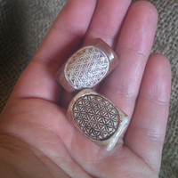 Flower of Life Dread Beads (Set of 2)