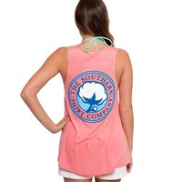 Southern Shirt Company Slouchy Scoop Neck Tank Top in Conch Shell 2T026-260