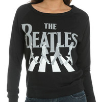 The Beatles Screened Sweatshirt | Shop Junior Clothing at Wet Seal