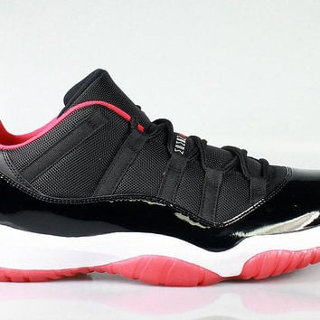 Air Jordan Men's 11 XI Low Retro Bred