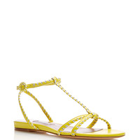 Lemon Yellow Cassia Sandal