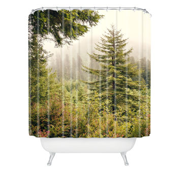 Catherine McDonald Into The Mist Shower Curtain