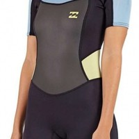 2mm Junior's Billabong Synergy Springsuit | Wetsuit Wearhouse