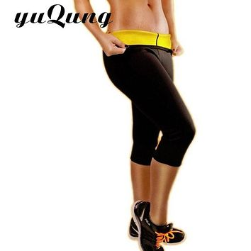 yuqung Sexy Women Fitness Leggings hot shaper neotex Pants Jeggings Compression Active Workout yuga leggings sportwear