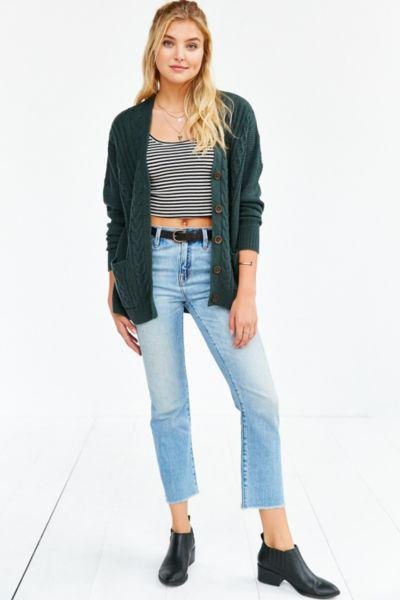 BDG Cayla Elbow Patch Cardigan from Urban Outfitters  54ad59789