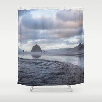 Whisper Shower Curtain by Gallery One
