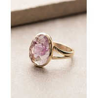 Natural Amethyst Ring - Size 7 Only