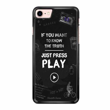 13 Reasons Why 5 iPhone 7 Case