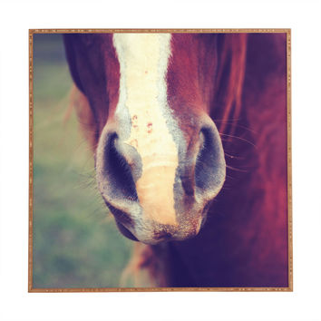 Allyson Johnson Horse Sense 1 Framed Wall Art