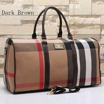 DCCKJG8 Burberry Women Travel Bag Leather Tote Handbag Shoulder Bag