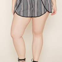 Plus Size Tulip Shorts