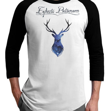 Expecto Patronum Space Stag Adult Raglan Shirt