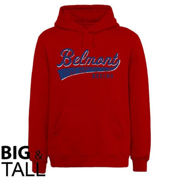 Belmont Bruins All-American Primary Big and Tall Sweatshirt - Red