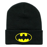 Cartoon Grey Batman Snapback Cap Hat for Men and Women Baseball Cap