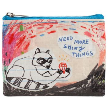 Need More Shiny Things Coin Purse (Also Perfect for Small Makeup Items)
