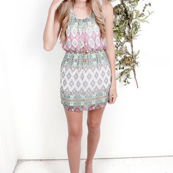Tribal Diamonds Dress