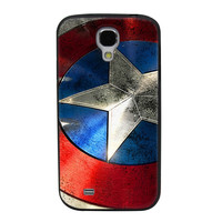Captain America Shield TPU Soft Shell Jelly Silicone Case for Samsung Galaxy S4