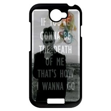 Brendon Urie Panic At The Disco 2 HTC One S Case