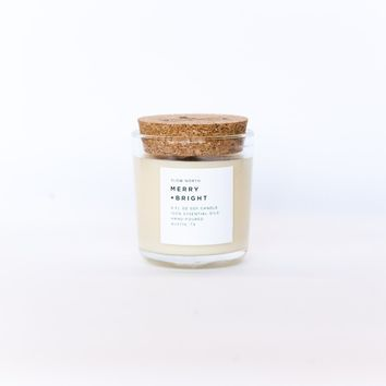 Merry + Bright Slow North Soy Candle