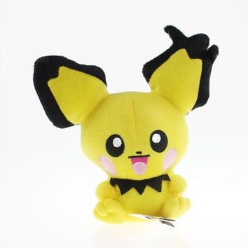 2016 New high quality Pichu Plush Doll Toy Stuffed Dolls 20cm Figure doll Gifts for
