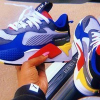 Free shipping-Puma Rs-X Toys color matching men's and women's retro old shoes