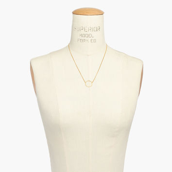 Luster Circle Necklace : | Madewell