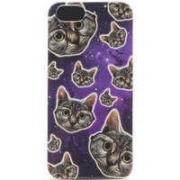 With Love From CA Kitty In Space iPhone 4/4S Case at PacSun.com
