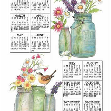 Calendar Towel 2019 - Wildflowers