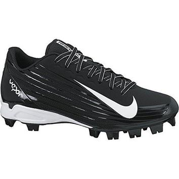 Men's Nike Vapor Strike 2 Baseball Cleat Black/White Size 10.5 M US