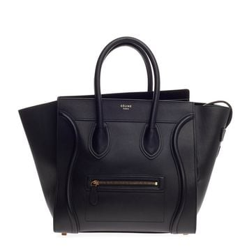 Celine Luggage Smooth Leather Mini