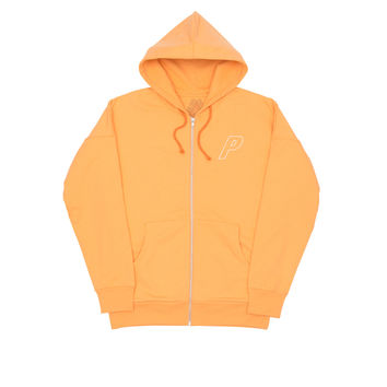 WAFFLE ZIP HOOD ORANGE | Palace Skateboards