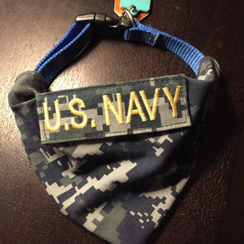 US Navy NWU Dog Bandana