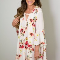 COASTLINE CRUISING DRESS - IVORY
