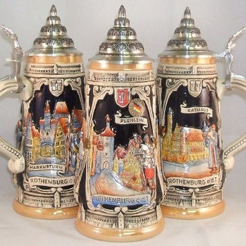 Rothenburg German Stein 0.5 Liter