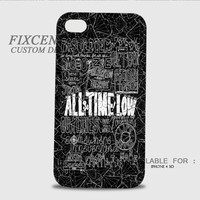 Of All Time Low Mice And Men Lyrics 3D Cases for iPhone 4,4S, iPhone 5,5S, iPhone 5C, iPhone 6, iPhone 6 Plus, iPod 4, iPod 5, Samsung Galaxy Note 4, Galaxy S3, Galaxy S4, Galaxy S5, BlackBerry Z10 phone case design