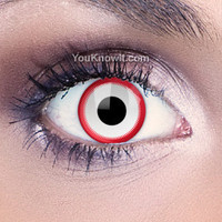 Devil Eyes Contact Lenses | Saw White Contact Lenses