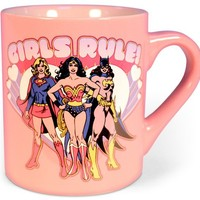 DC Comics - Girls Rule 14oz Ceramic Mug