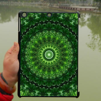 Green Mandara Pattern iPad Case,Flora flower iPad mini Case,iPad Air Case,iPad 3 Case,iPad 4 Case,ipad case,ipad cover, ipad mini cover ipad air,iPad 2/3/4-099