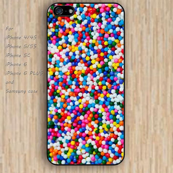 iPhone 5s 6 case colorful ball smal ball iphone case,ipod case,samsung galaxy case available plastic rubber case waterproof B241