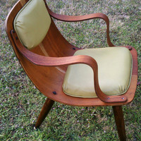 Scoop Chair by Carter Brothers Inc by mtiulescu on Etsy