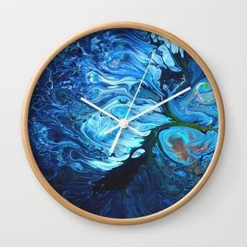 Organic.2 Wall Clock by DuckyB