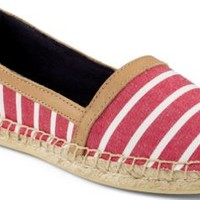 Sperry Top-Sider Danica Espadrille Red/WhiteBretonStripe, Size 9M  Women's Shoes