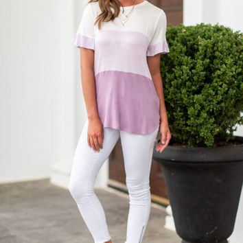 It's A New Way Top, Lavender