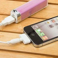 Candy Color Mobile Power Battery Charger for iPhone
