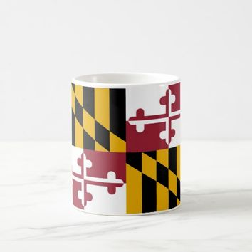 Mug with Flag of Maryland State - USA