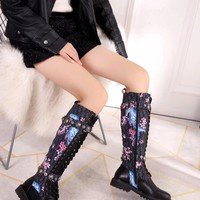Dior Fashion Women Casual Breathable Sneakers Sport Shoes high top boots top quality