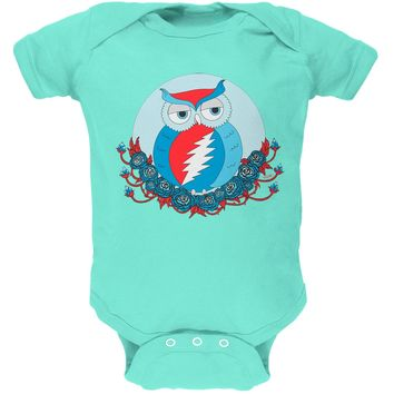 Grateful Dead - Steal Your Face Owl Chill Baby One Piece