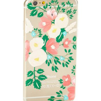 Clear Orchid Soft Case for iPhone 6 & 6S
