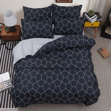 Cool Cotton Bedspreads Quilted Quilt 2pcs Pillowcase Duvet Cover Air Conditioner Blanket bed cover King Queen Twin Full Size 4pcs/setAT_93_12